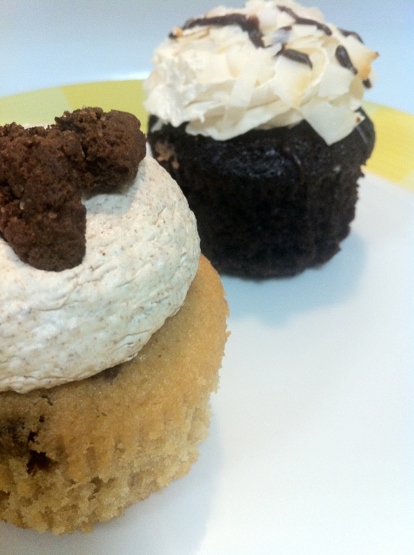 Cookies and cream and Chocolate coconut